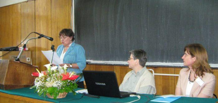 пленарное заседание 1 июня: выступает В. А. Кузьменкова